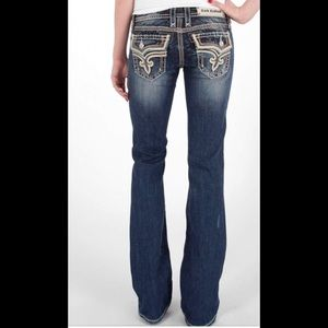 Rock Revival Kai Easy Boot Jeans size 26
